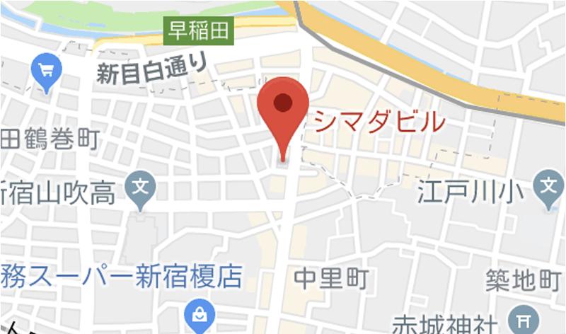 Joli(ジョリ)神楽坂店マップ